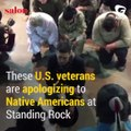 We fought you, we took your land, we signed treaties that we broke   we beg for your forgiveness