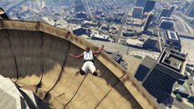 GTA 5 - MAZE BANK SPIRAL RAMP - SOUL SWITCHER GUN - FUNNY MOMENTS (Gameplay Video)