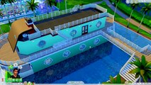 Honeymoon Boat Party Cruise Ship - Fairy Fantasy SIMS 4 Game Lets Play Dating Video Series