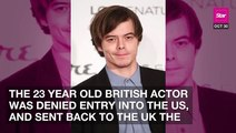 'Stranger Things' Actor Charlie Heaton Allegedly Detained For Cocaine Possession At LAX.