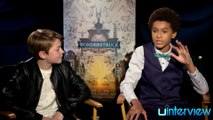 Oakes Fegley & Jaden Michael on 'Wonderstruck'
