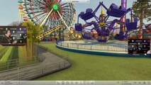 RCT-W: First commented Gameplay (Roller Coaster Tycoon World, RCT 4)
