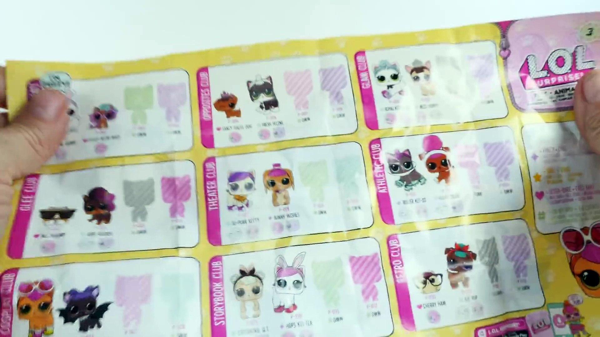 New LOL Surprise! Pets _ Series 3 LOL Surprise Dolls Pets _ Big & Lil' Sis + Pet make a fam