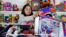 Guerra Reto de Nerf o Nerf War Challenge en Español I Abrelo Toys Nerf