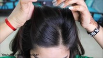 Front Puff For Thin Hair Quick Easy Hairstyles With Puff Video Dailymotion