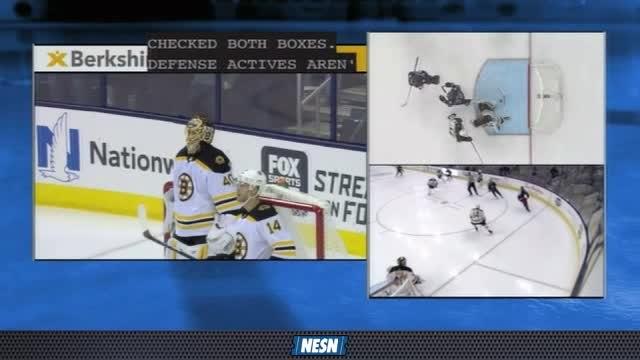 Berkshire Bank Exciting Rewind: Bruins vs. Blue Jackets