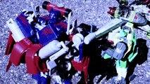 Transformers: The Return of Megatron Stop Motion Part 3 - Damaged Souls