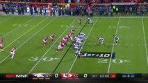 Denver Broncos running back Jamaal Charles picks up 18 yards on first run as Kansas City Chiefs visitor