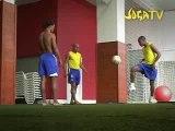 Pub Nike Robinho R.Carlos Ronaldinho