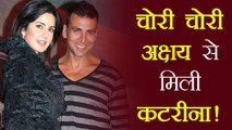 Katrina Kaif met Akshay Kumar SECRETLY; Know Why | FilmiBeat
