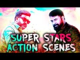 Super Action Scenes | Mammookka, Lalettan Mass Scenes | Super Hit Movie Scenes | Malayalam Movie