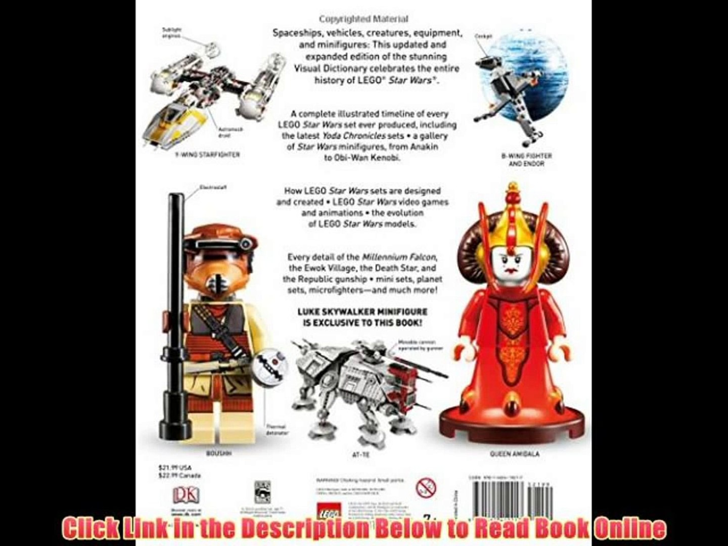 Lego Star Wars The Visual Dictionary Book Online Video Dailymotion