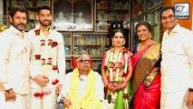 Vikram's Daughter Akshita Marries Karunanidhi's Great Grandson Manu Ranjith