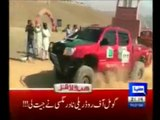 Sahibzada Sultan best performance on 3 wheels ♦ Report Dunya News