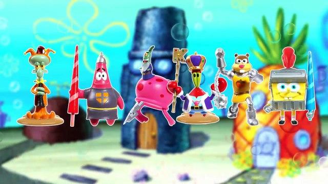 SpongeBob SquarePants Toys Surprise Egg Patrick Mr Krabs SquarePants for kids