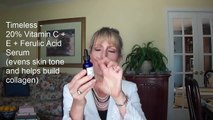 ANTI-AGING! TIMELESS PRODUCTS - Vitamin C Serum, Matrixyl, Hyaluronic Acid, and Argan Oil