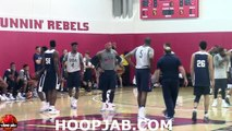 Kevin Durant,Kyrie Irving,Carmelo Anthony,Klay Thompson.USA Basketball Competitive Scrimmage.