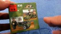 Lego образный конструктор Combat Zone Военная машина от Briks