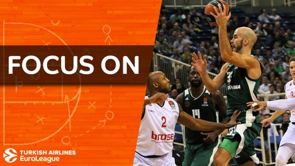 Focus on: Nick Calathes, Panathinaikos Superfoods Athens