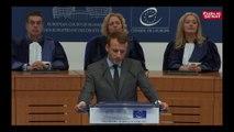 Macron devant la CEDH souhaite la création d'une agence agence chargée  « d'encadrer le travail d'intérêt général »