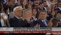 Παρουσία του Προέδρου της Δημοκρατίας η τελετή παράδοσης της Ολυμπιακής φλόγας του Ριο 2016 στο Παναθηναϊκο Στάδιο