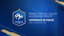 Jeudi 2 novembre à 14h00 : Conférence de Didier Deschamps en direct I FFF