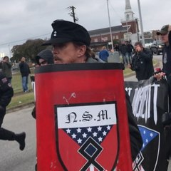 Counterprosters helped shut down a white nationalist rally in Tennessee using humor [Mic Archives]