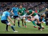 Italy v Ireland, Official short highlights worldwide, 07th Feb 2015