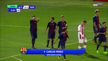0-3 Carles Pérez Goal UEFA Youth League  Group D - 31.10.2017 Olympiakos Youth 0-3 FC Barcelona...