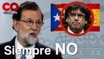 Cataluña declara independencia de España; Rajoy dice que no y destituye a Carles Puigdemont