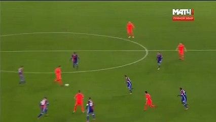 Alan Dzagoev Goal  - Basel 1-1 CSKA Moscow 31.10.2017