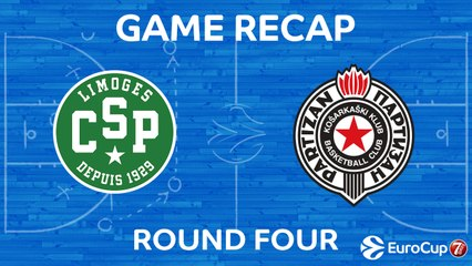 7Days EuroCup Highlights Regular Season, Round 4: Limoges 92-83 Partizan