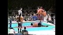 Hiroyoshi Tenzan/Satoshi Kojima vs Genichiro Tenryu/Shiro Koshinaka (New Japan January 4th, 1999)