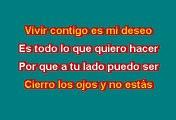 Alex Jorge & Lena - Estar contigo (Karaoke)