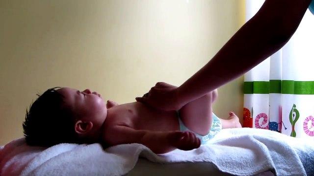 Baby Massage & Stretching Demonstration