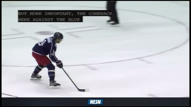 NESN Live: Bruins Lose To Blue Jackets