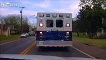 TEEN STEALS AMBULANCE FOR FUN, ENDS UP IN A HIGH SPEED-SPEED POLICE CHASE
