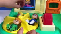 FISHER PRICE Playground with the CHIPMUNKS and CHIPETTES Toys!-gh8OwP97xao