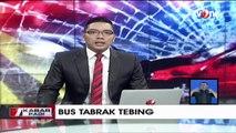 Bus Tabrak Tebing di Lereng Merapi, Dua Penumpang Tewas