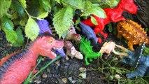 КУДА ПРОПАЛИ ДИНОЗАВРЫ. Тираннозавр и ядовитые грибы. Мультики про динозавров 2017
