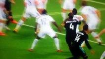 Cristiano Ronaldo Blocks Sergio Ramos Shot! Tottenham vs Real Madrid 31-10-17