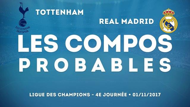 Les compos probables de Tottenham-Real Madrid