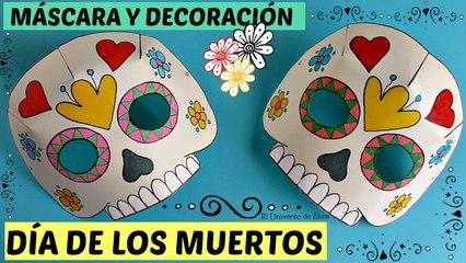 Día de los Muertos, Máscara Catrina, Decoración para el Día de los Muertos