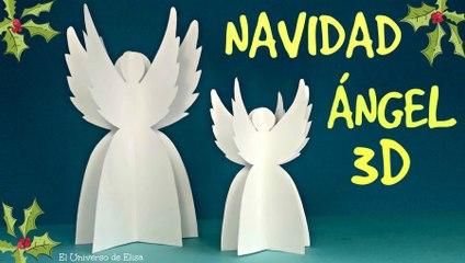 Decoración para Navidad, Cómo hacer un Ángel de Papel
