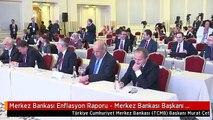 Merkez Bankası Enflasyon Raporu - Merkez Bankası Başkanı Çetinkaya (1)