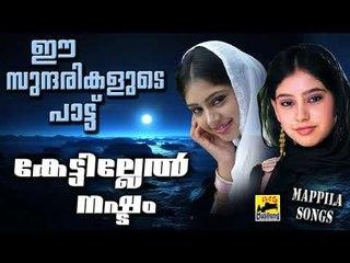 ഈ സുന്ദരികളുടെ പാട്ട് കേട്ടില്ലെങ്കിൽ നഷ്ട്ടം |  Old Is Gold | Malayalam Mappila Songs 2017
