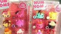 ★Num Noms Moving 8 Packs★ NEW Num Noms Motorized 8 Packs Unboxing Surprises Sorpresas Toys Videos