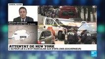 Attentat de New York : l''auteur de l''attentat de New York lié à l''EI et radicalisé aux Etats-Unis