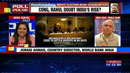 """Junaid Ahmad, Country Director, World Bank India Says """"We Are Very Proud Of World Bank's Report"""""""