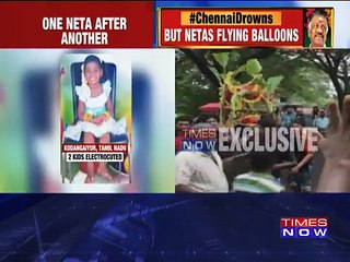 Chennai Heavy Rains: Two Girls Electrocuted As Rains Lash City